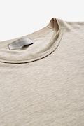 Morbida t-shirt in lino