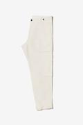 Pantalone cargo in morbido lino