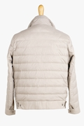 Quilted Nylon Ultra Light Down Jacket