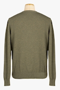 Cotton and Cachemire V-Neck Sweater