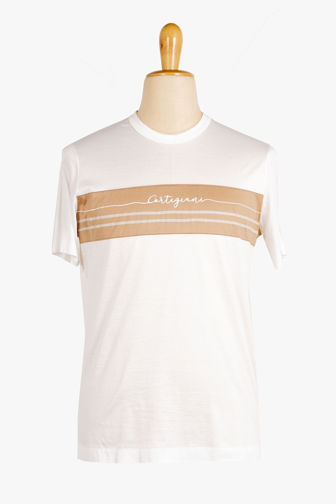 Cotton Logo T-Shirt - Cortigiani