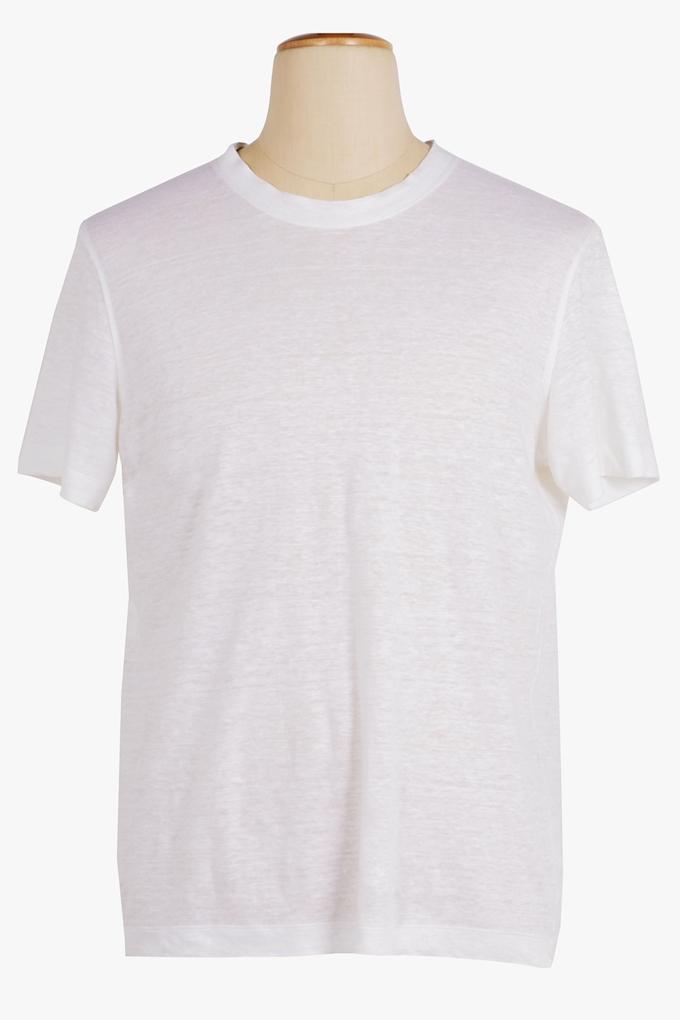 Linen T-Shirt - Cortigiani