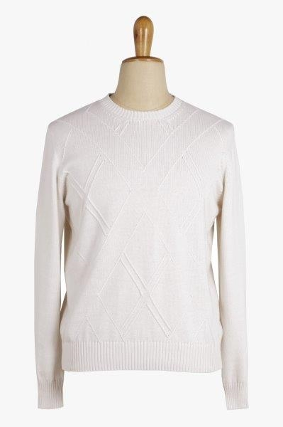 Cotton and Cachemire Sweater - Cortigiani