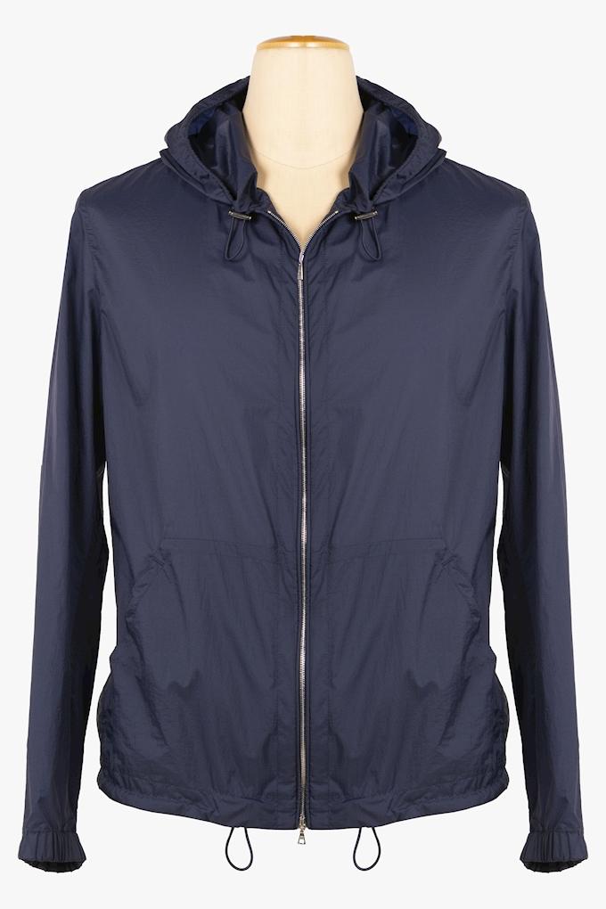 Nylon Hooded Jacket - Cortigiani
